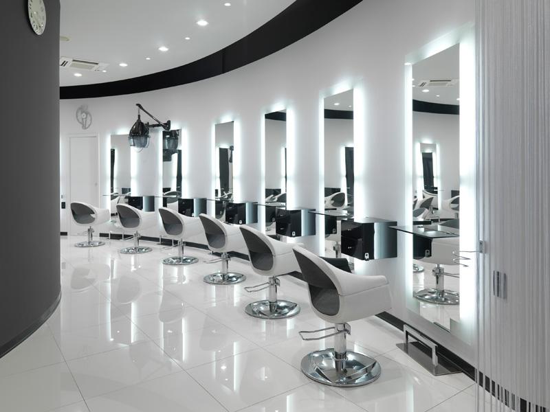 Agencement de salon too coiff for Vezzosi arredamenti